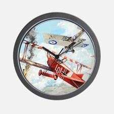 Fokker Wall Clock