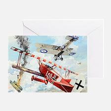 Fokker Greeting Card