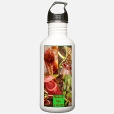 Plant Mouths CPress1 2 Sports Water Bottle