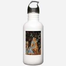 GoldenHairPoster Water Bottle