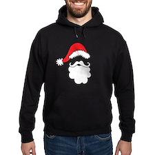 Santa Hat & Beard Hoody