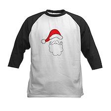 Santa Hat & Beard Baseball Jersey