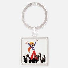Suffrage Square Keychain