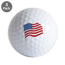 flag Golf Ball