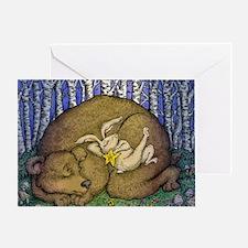 sleepingbeargordonsmall Greeting Card