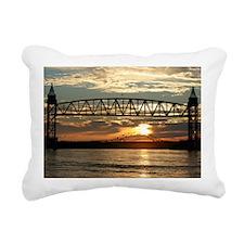 Cape Cod Sunrise Rectangular Canvas Pillow