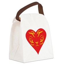 Tiger-Heart-2010 Canvas Lunch Bag