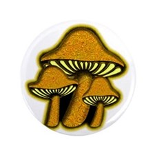 """YellowShrooms 3.5"""" Button"""
