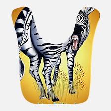 Zebra Fat Butt PosterP Bib