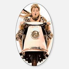scooter_diva Sticker (Oval)