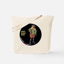 CIRCLE_9_5_NB_BLACK_BEAK_FI Tote Bag