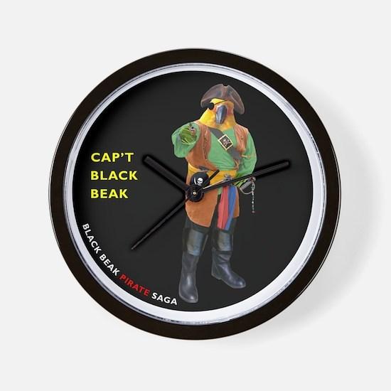 CIRCLE_9_5_NB_BLACK_BEAK_FI Wall Clock