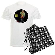 CIRCLE_9_5_NB_BLACK_BEAK_FI Pajamas