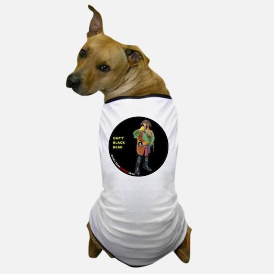 CIRCLE_9_5_NB_BLACK_BEAK_FI Dog T-Shirt