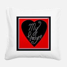 cc val cushion 005 Square Canvas Pillow