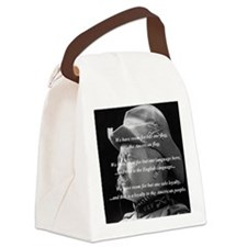 teddy_roosevelt_QUOTE_big Canvas Lunch Bag