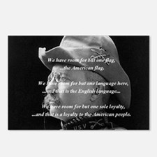 teddy_roosevelt_QUOTE_big Postcards (Package of 8)