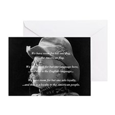 teddy_roosevelt_QUOTE_big Greeting Card