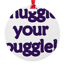 snuggle-your-puggle Ornament
