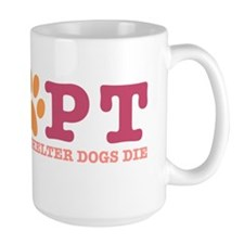 adoptpaw_pinkorange Mug