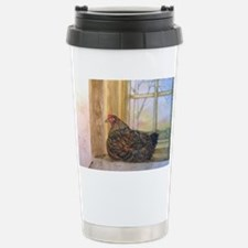 Sunset Roost  lightened Travel Mug