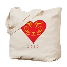 Tiger-2010 Tote Bag