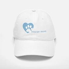 rescuemom_ltblue Baseball Baseball Cap