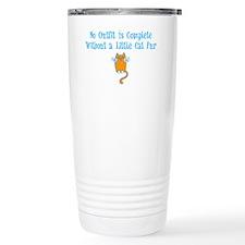 cat-fur-dark Travel Coffee Mug