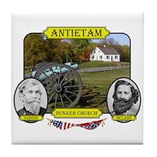 Antietam-Dunker Church Tile Coaster