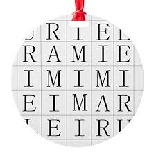 URIEL Ornament