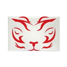 TigerRed Rectangle Magnet