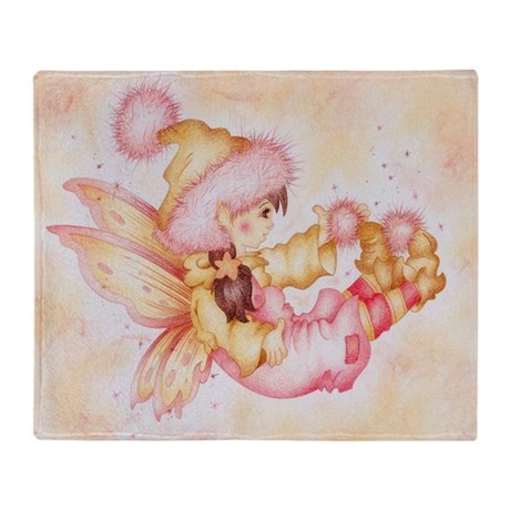 Fluffie Fairie Throw Blanket