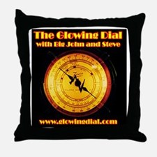 The Glowing Dial_page type logo (10x1 Throw Pillow