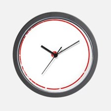 PWCred Wall Clock