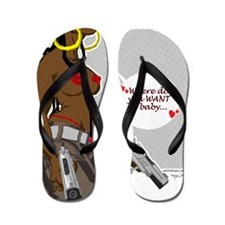 cupid_mysterious_draft Flip Flops