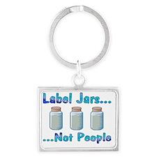labels_transparent Landscape Keychain