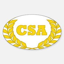 CSA -laurel Decal