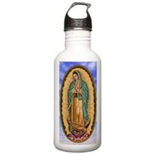 La Guadalupana 10x15 Water Bottle