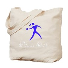 Discus Chick White Tote Bag