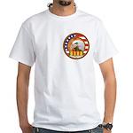 Masonic Vietnam Veteran White T-Shirt