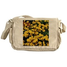 Little Sunflower Throw Pillow Messenger Bag