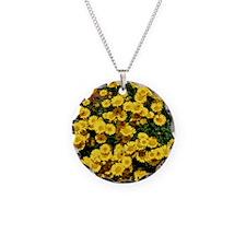 Little Sunflower Throw Pillo Necklace