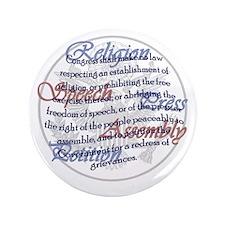 "1st Amendment 3.5"" Button"