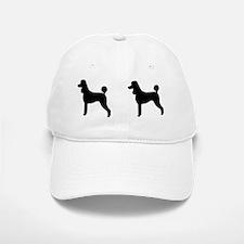PoodleSilhouetteMug Baseball Baseball Cap