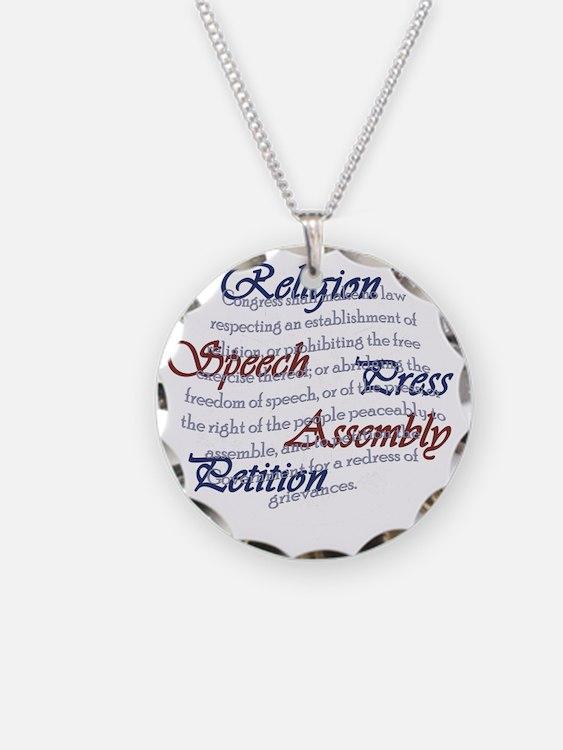 1st Amendment Necklace