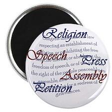 1st Amendment Magnet