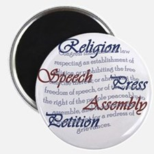 1st Amendment Magnet