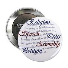 "1st Amendment 2.25"" Button"