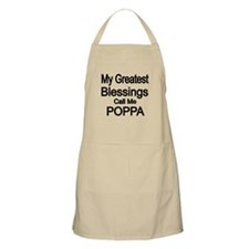 My Greatest Blessings Call Me POPPA Apron