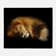 Sleeping Lion Blanket